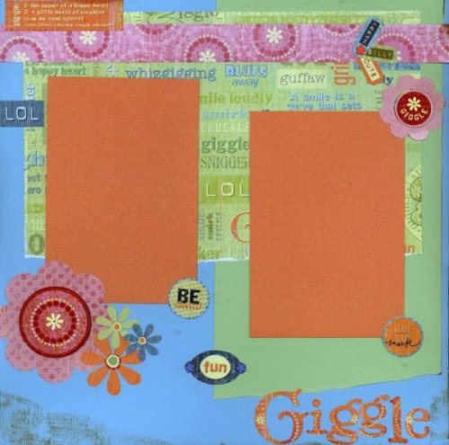 Scrapbooking Page Ideas Giggles