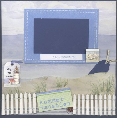 Scrapbooking Page Ideas Applegate Summer Vacation
