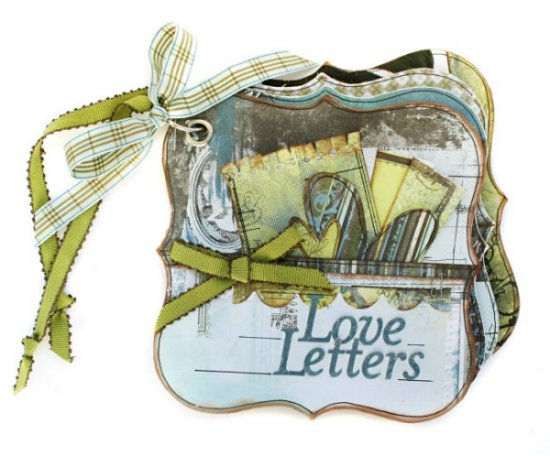 Scrapbooking With Love Basic Grey Love Notes Mini Album Class