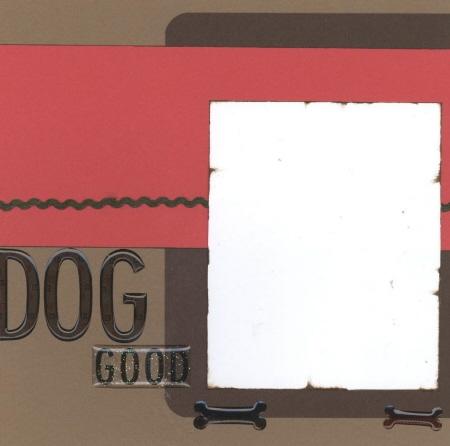 Scrapbooking Page Ideas Dog Bones