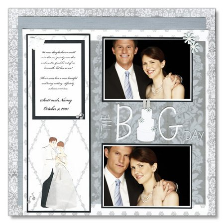 Scrapbooking Page Ideas The Big Day