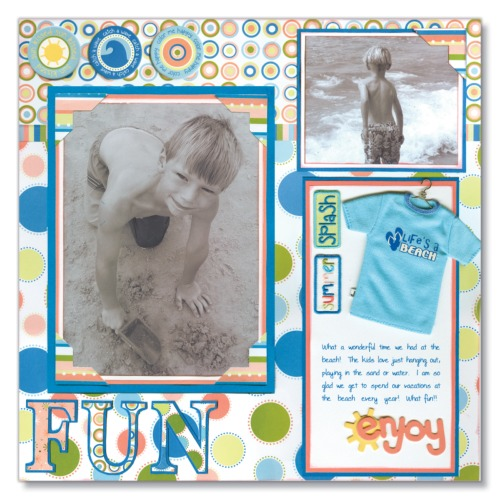 Scrapbooking Page Ideas Life