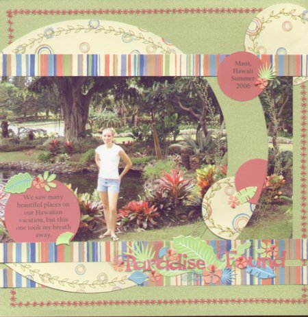Scrapbooking Page Ideas Paradise Found