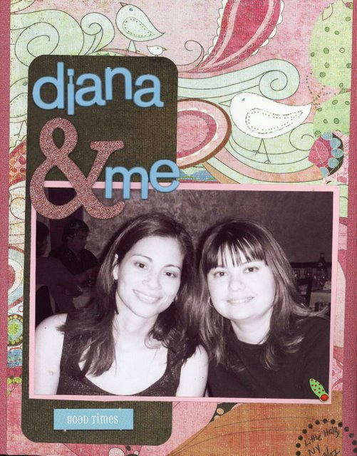 Scrapbooking Page Ideas Diana & Me
