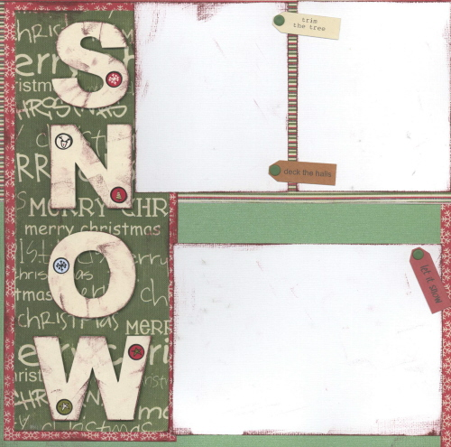 Scrapbooking Page Ideas Snow