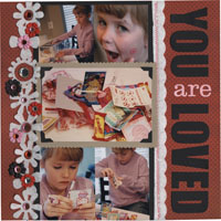 Scrapbooking Page Ideas You are Loved