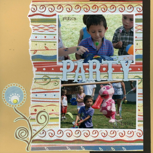 Scrapbooking Page Ideas Party