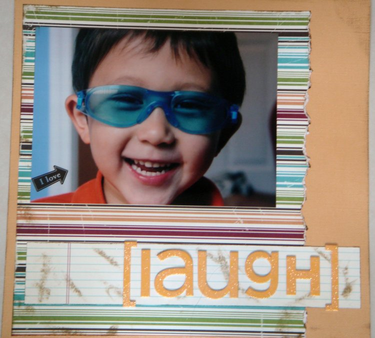 Scrapbooking Page Ideas  [Laugh]