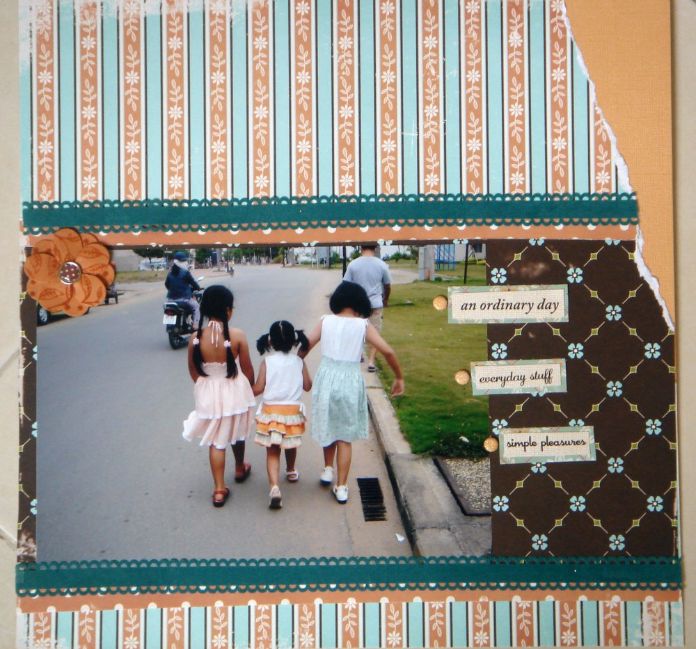 Scrapbooking Page Ideas No Ordinary Day