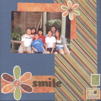 Scrapbooking Page Ideas Smile
