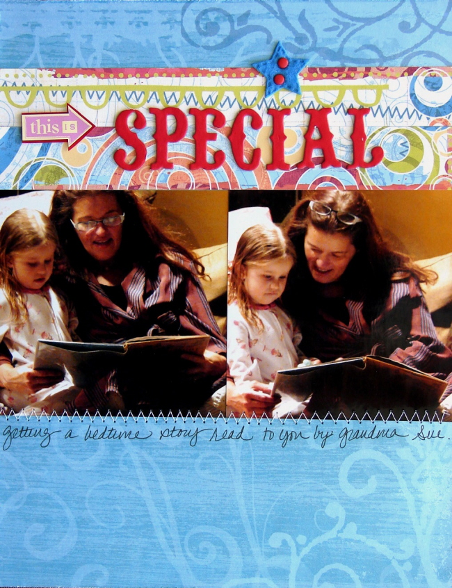 Scrapbooking Page Ideas Special