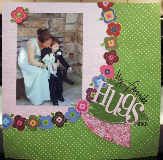Scrapbooking Page Ideas Hugs