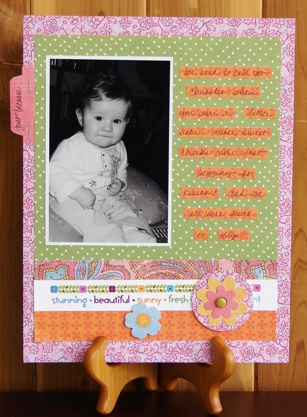 Scrapbooking Page Ideas Just Because
