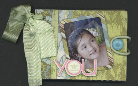 Scrapbooking Page Ideas Amy Butler Sola Mini Book Kit