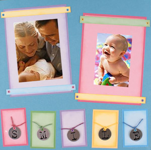 Baby Scrapbook Idea