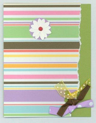 Scrapbooking Card Idea Bazzill Class Concept