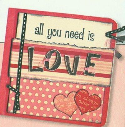 Bo Bunny Valentine Love Boardbook
