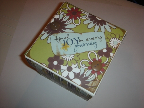 Scrapbooking Page Ideas Cotton Shop Memory Box Kit