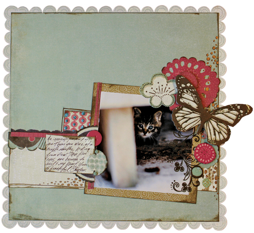 Scrapbooking Page Ideas Mia