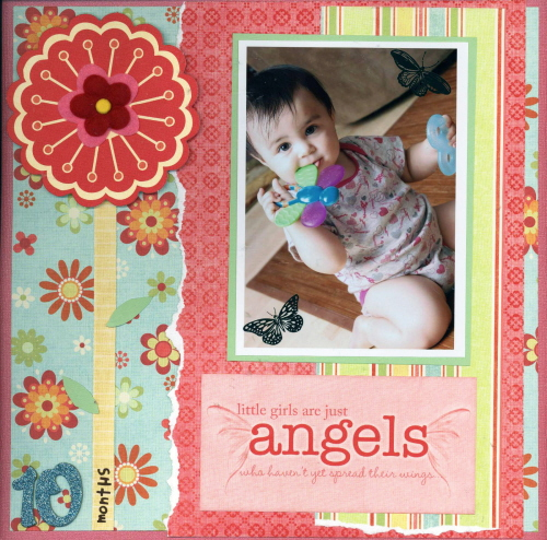 Scrapbooking Page Ideas 10 Months