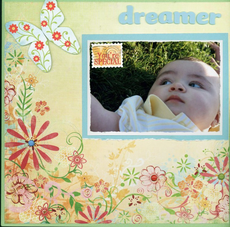 Scrapbooking Page Ideas Dreamer