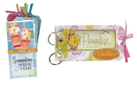 Scrapbooking Page Ideas Flair Paradise Mini Tag Albums Class