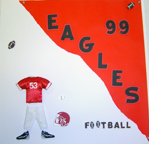 Football Page Scrapbook