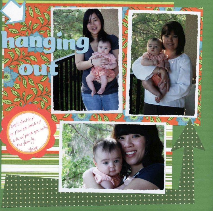 Scrapbooking Page Ideas Hanging Out