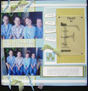 Friend Scrapbooking Idea