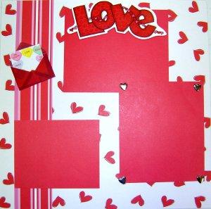 Love Scrapbook Ideas