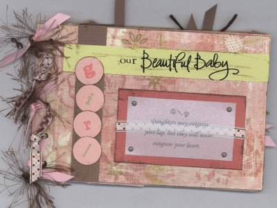 Scrapbooking Page Ideas Wild Asparagus Mini Baby Girl Album Class
