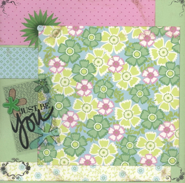 Scrapbooking Page Ideas Just Be You