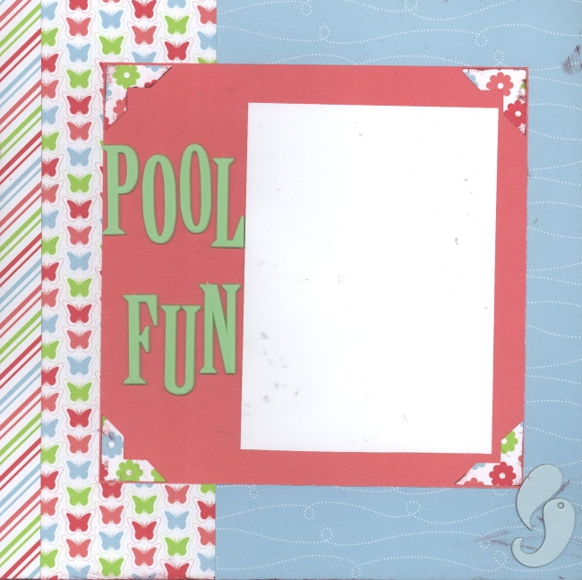 Scrapbooking Page Ideas Pool Fun