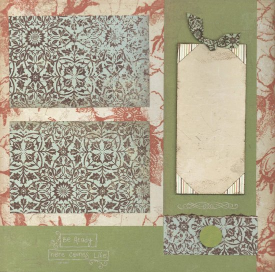 Scrapbooking With Love August Monthly Kit