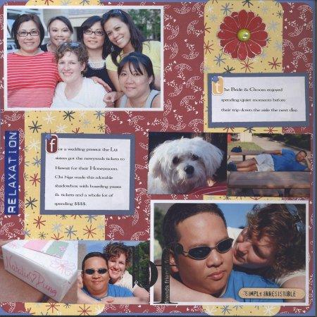 Scrapbooking Page Ideas Summer BBQ 2006