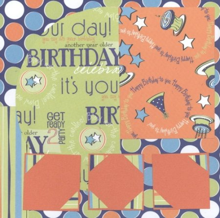 Scrapbooking Page Ideas Birthday Boy