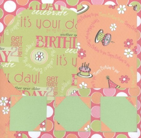 Scrapbooking Page Ideas Birthday Girl