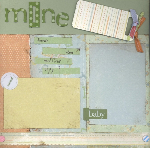 Scrapbooking Page Ideas Child of Mine