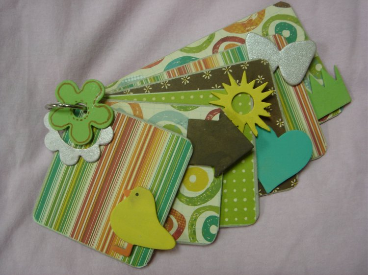 Scrapbooking Page Ideas Spring Chick Chipboard Album