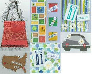 Scrapbooking Card Idea Book Club Class Feb 22