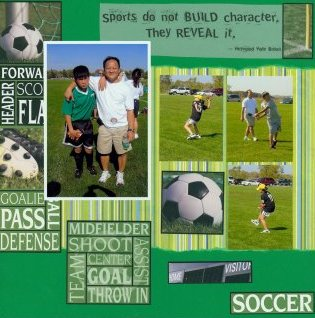 Scrapbooking Page Idea Duy