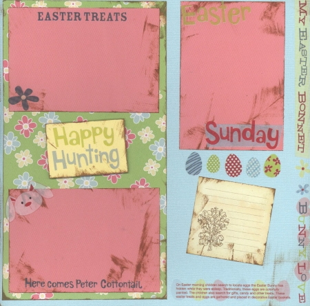 Scrapbooking Page Ideas Happy Hunting