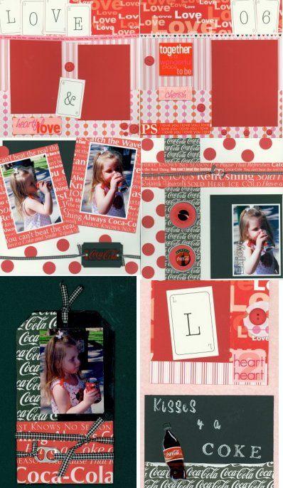 Scrapbooking Monthly Feb 2006 Kit
