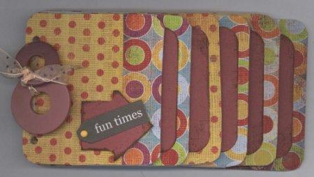 Scrapbook Page Ideas Fun Times Chipboard Album