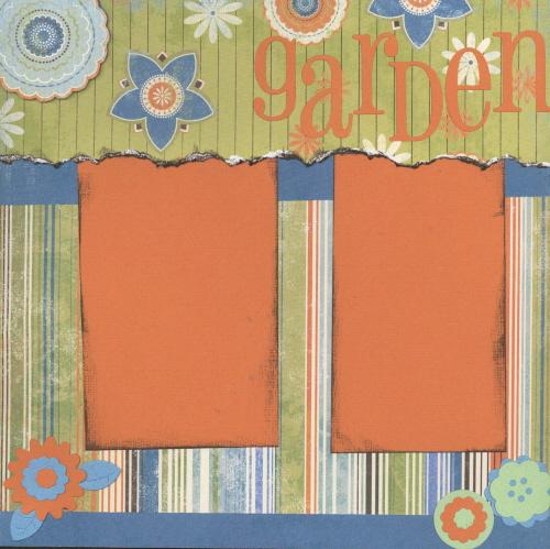 Scrapbooking Page Ideas Garden