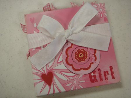 Scrapbooking Page Ideas Girl 4x4 Accordion Album