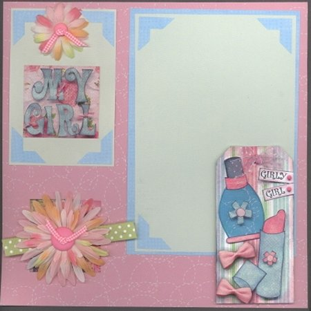 Scrapbooking Page Ideas Girl Talk