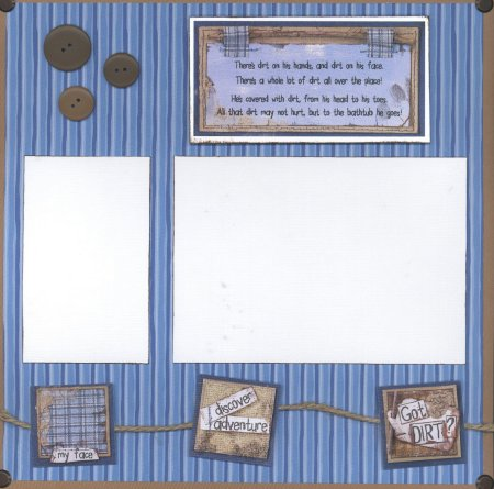 Scrapbooking Page Ideas Got Dirt