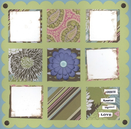 Scrapbooking Page Ideas I Heart Mom