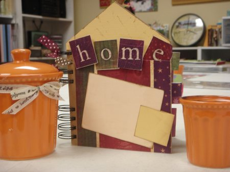 Scrapbooking With Love Class Home for the Holidays